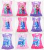 Frozen Dress Elsa & Anna Summer Dress For Girl 2014 New Hot Princess Dresses Brand Girls Dress Children Clothing Kids Wear