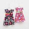 New 2014 flowers cotton girl dress summer baby casual dress baby & kids dresses for girls dress 1 piece retail sp002
