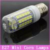 1pcs Mini E27 LED Lamps AC 220V 7W/15W/18W 30/48/69 SMD 5050 Crystal Candle Corn Bulb Droplight Chandelier Spot Light 360 degree