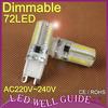 G9 led lamp 6W 9W 10W G9 Led bulb 7w dimmable SMD3014 SMD2835 220V electronic 2015 new 360 Beam Angle LED Bulb lamp