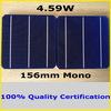 4.59W 19.2% High Efficiency 156mm 3BB Mono Solar Cell, 2014 New! (Enough PV Ribbon as Gift)
