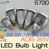 ON SALE 10x3W 5W 7W 9W E27 LED light bulb LED Globe Bulbs lamp 85-265V for home lighting lampada led e27,Freeshipping