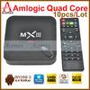 10pcs/lot Original MXIII Amlogic S802 Quad Core TV Box XBMC Gotham Android 4.4 Kitkat Wifi 1G/8G 4K2K Ultra HD Rooted Jailbreak