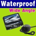 Free Shipping !!! New Wireless Car Rearview Camera + 3.5' Color LCD Monitor N77