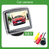 automobile rearview camera and monitor system(auto reversing aid system) (car back up safety parts)