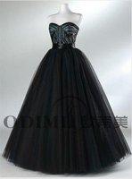 Hot Selling Strapless Tulle Evening Dress 2011 Celebrity dress