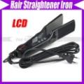 Titanium Flat Iron Ionic Hair straightener Hot Black New #1955