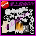 Free shipping,13 sets,for cake set many styles plastic tool cake cutter mould decoration tool