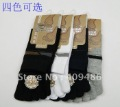 12 Pairs New Colorful Men Boy Male Gentleman Colorful Hosiery Five Finger Toe Socks