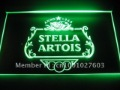 w3201 Stella Artois Beer BAR Neon Light Sign