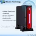 Factory Outlet: wifi Bluetooth desktop pc mini box industrial computer, umpc computers mini pos pc, Optional: Dual LAN: 52B-3WB