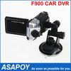 Sunplus Car DVR F900 Car Camera Video Recorder HD 1080P 2.5 inch Car DVR TFT Support Russia Car Black Box.Free shipping