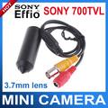 Mini CCTV Camera Sony Effio 700TVL HD Hidden camera with bracket Mini Camera