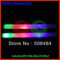hot sale free shipping 120pcs/lot 4*48cm multi color led foam stick foam glow stick light stick for Christmas