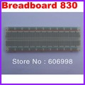 Solderless Breadboard 830 Protoboard Tie-point Tiepoint 830 for Arduino Free Shipping Dropshipping