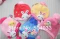 2013 New Children Bear hat,cartoon rabbit baby crochet beanie,infant mushrooms knitted cap,toddler cap,Kids naughty cap 10/lot