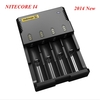 Mail Free+ 1PC 2014 New Nitecore Battery Charger Universal Charger Nitecore I4 Charger  + Retail Package + Charging Cable