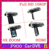 F900LHD with 1080P (H-04B.4) 2.5' Screen wide Angle 120 A+ Degree F900 car dvr