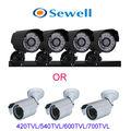 24LED 420TVL CMOS Day Night Waterproof Security Camera Surveillance Camera 15M IR Bullet Camera with bracket free shipping