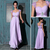 DORISQUEEN 2014 new arrival Free Shipping A-line Sweetheart Purple floor length Lace Beading long Formal Evening Dresses 2014