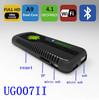Free shipping 2013 New Bluetooth UG007 II Mini PC Android 4.1 Google TV Dongle Dual Core Cortex A9 WiFi 1080P 1GB 8GB 3D