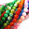 8mm 1050pcs Mix Color Round Shape Pendant High Quality Rondelle Loose Glass Beads for Jewelry Accessories Free Shipping HB440