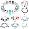 2014 AliExpress Hot Sell 925 Silver European Style Charm Bracelet for Women Chamilia Fashion DIY Jewelry PA1236