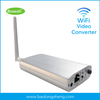 P2P wireless analog video camera transmitter to digital ip camera with SD card, wireless video transmitter