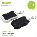 SG Post Free Shipping New design Mini Keychain Solar charger for Christmas gift