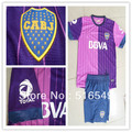 13/14 Wholesale - New!Top Quality Boca Juniors home Purple soccer jerseys , soccer Football uniforms&short Can customed!