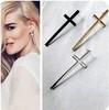 5pairs/1 Lot 2014 New style 3colors Fashion Lovely vintage cross earrings wholesale XY-E140 E141 E142