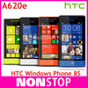 "8S Original HTC Windows Phone 8S A620e GPS WIFI 4.0""TouchScreen 5MP camera Win8 Unlocked Cell Phone"
