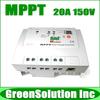 2013 NEW!! Max. PV 150V, 20A MPPT Solar Charge Controller Regulators 12V/24V PV Power System, Tracer 2215RN