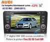 Car DVD/GPS/DVB-T/TMC/3G INTERNET Player For FOR AUDI A3 S3 Ipod