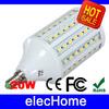 E14 AC 220V LED Light Lamp 20W SMD 5050 102 leds LED Spotlight Corn Lights Bulb Energy Saving Led lamps Bulbs Free Shipping