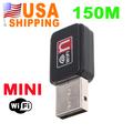 US Stock To USA CA 150M USB WiFi Wireless Network Card 802.11 n/g/b LAN Adapter UPS Free Shipping 10Pcs/Lot Wholesale Dropship