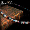 Special 2014 New Design Austria Crystal Hair Band Girl Handmade Hair Clasp Summer Hair Jewelry Free Shipping FS141005