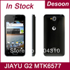 "In stock Free shipping Jiayu G2 phone MTK6577 1GB /4GB dual core android 4.0 GPS G2S 4.0"" multi-touch black white / Koccis"