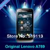 Original Lenovo A789 Dual Core MTK6577 512M+4G Dual SIM Dual Camera Android 4.0 Russian Menu multilanguage 3G Smart Cell Phone