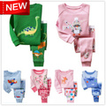 Brand babys clothing cotton boys clothing girls clothing Bee design pajamas children's clothes baby sets(80cm-120cm) RF04