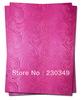 Free shipping African headtie,Head Gear, Sego Gele&Ipele,Head Tie & Wrapper, 2pcs/set, FUSHIA PINK