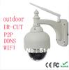 720P PTZ Pan Tilt IR Cut Wireless WiFi Varifocal Len Outdoor IP CAMERA CCTV NightVision Security Monitor waterprOof IP camera