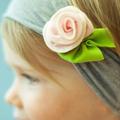 2013 New Free shipping Cute Baby flower headbands infant cotton hairband/Baby cotton head scarf/Baby headwear/headdress XM-335