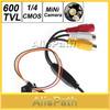"600TVL 500MP 1 / 4"" HD Smallest Mini Camera Pinhole CCTV Camera CMOS Hidden Covert Cam Home Security Camera Audio Surveillance"