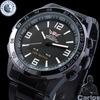 Free shipping military watches men quartz analog relojes men full steel watch waterproof relogios dive wristwatches 1009BBW