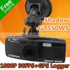 Shadow GT550WS GPS Car DVR Camera With GPS Logger + GPS Speed Warning + WDR + 1080P 30FPS + G-Sensor + Super                                     Night Vision
