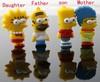 Flash Cartoon Simpson Family 4 Characters USB Flash Memory Pen Drive Stick 8GB,16GB,32GB 64GB 128MB Free shipping