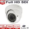 "1/2.8"" Sony Exmor IMX122 2.0 mega pixel 1080P HD SDI cctv camera 2.8~12mm IR Vision Vandalproof dome security camera"