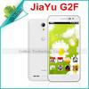"Jiayu G2F Original Mobile phone MTK6582 Quad Core1GB RAM GSM 1.3GHz 4.3"" 1280*720 IPS Gorrila Screen Android 4.2 Dual camera"