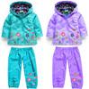 2014 new,coats/jackets children,children hoodies,kids jackets coats,girls outerwear,Children's raincoat,girls coat,clothing sets